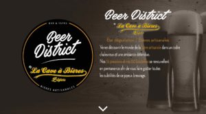 Beer District Béziers Bar à biere Pub Beer